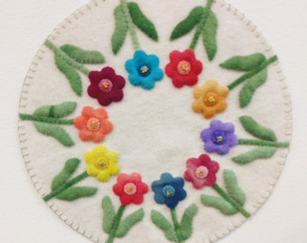 Posies Flower Mat KIT
