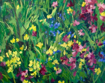 Waiting for Wildflowers - Open Edition Print