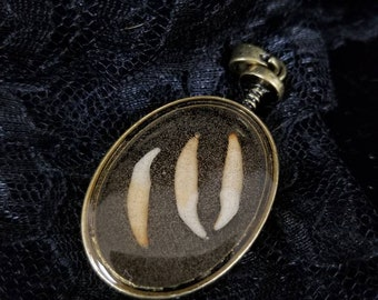 Tooth pendent