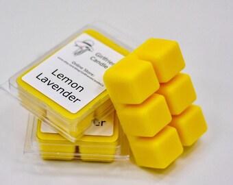 Lemon Lavender Scented Wax Melt