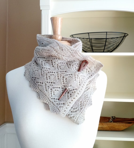 Knitting Lace Scarf Pattern Pdf Smoky Mountain Morning Mist Scarf