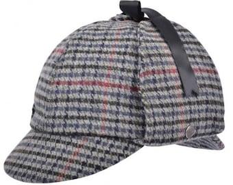 Sherlock Holmes- Deerstalker hat tweed