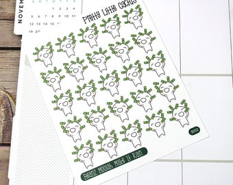 Beanz Pay Day Sticker, Pay Day, Money, , Vinyl Sticker, Function Stickers, Erin Condren, Happy Planner, Planner Stickers || B002