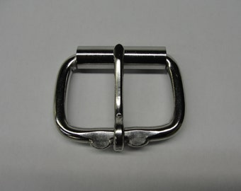 "Stainless Steel Replacement Roller Buckle available in 1-1/2"" , 1-3/4"" DIY Cosplay Anime Punk Rock Gothic Leather Collar Belt Strap Fantasy"