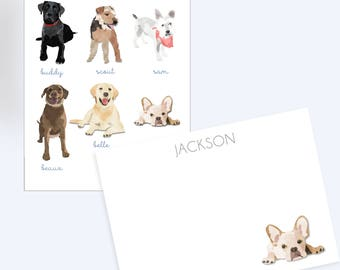Dog Stationary // Thank you notes