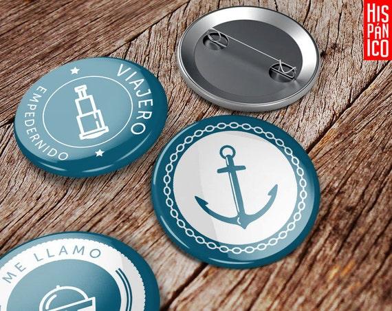 6 Badges 'Viajero'