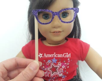 18 Inch Doll Photo Booth Party Playset for American Girl Sized Doll or Stuffed Animal
