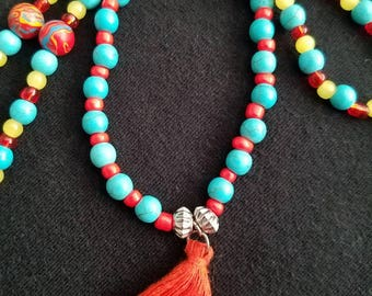Necklace and bracelet set with (Free earrings).