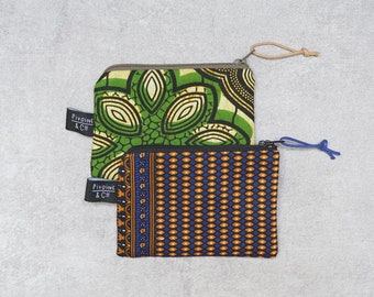 Wallet / card holder in traditional Cambodian fabric