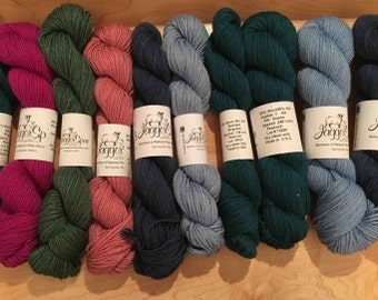 Jaggerspun Zephyr Wool-Silk Skeins Worsted Weight