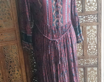 Romantic Bohemian Her Style Dress