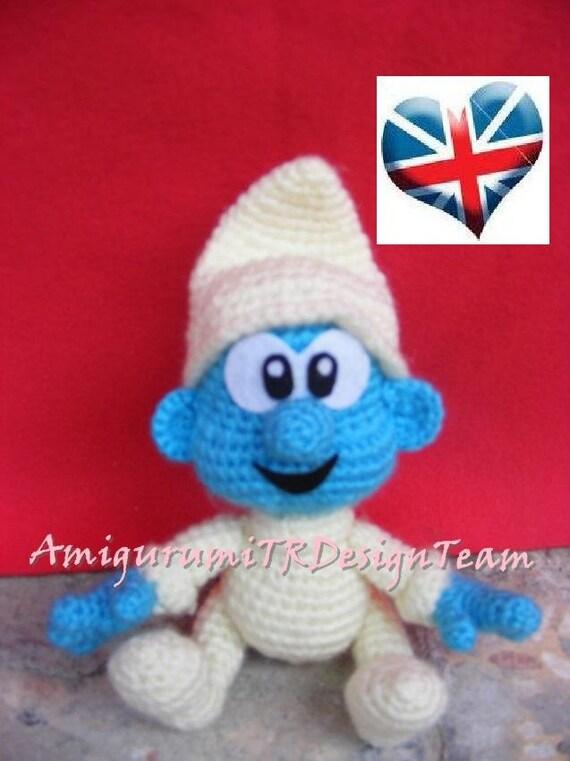 Baby Smurf-AmigurumiTRDesignTeam