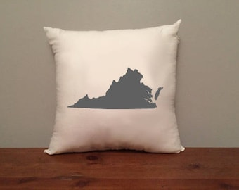 Virginia Pillow with Optional Heart
