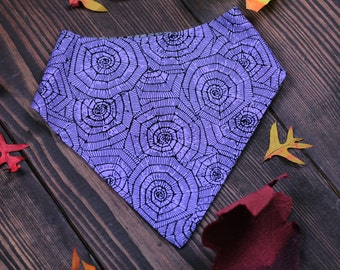 Halloween Spiderweb  Reversible  Bandana