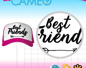Bestfriend Studio PNG and SVG cut file