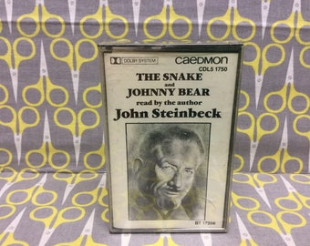 The Snake and The Bear by John Steinbeck Cassette Tape Spoken Word Audiobook