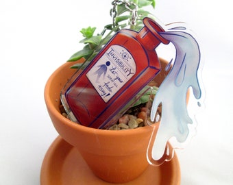 Invisibility Potion Keychain