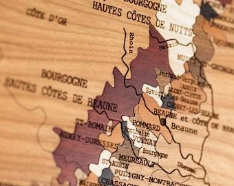 Marquetry, BOURGOGNE wines