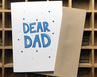 Dear Dad, Thanks for balancing out Mom's Crazy - Father's Day Card