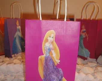 10 Disney Princess Rapunzel Party Favor Bags