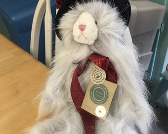 Boyds bear cat with hat