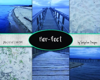Pier-fect Digital Print Download Piers & Beaches