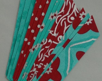 Water Lust Fabric Washi Tape, 15 strips