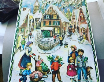 Advent Calendar (pic#1), German christmas, prepare for the holidays, magical, picture advent calendar/