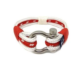 Bran Marion Bremen Nautical Bracelet, Handmade Rope Bracelet, Unisex Bracelet