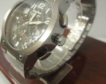 Gents Amadeus Chronograph watch stainless steel in  box like new!