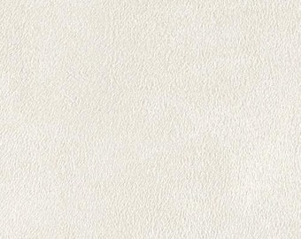 """White Polyester micro faux suede upholstery fabric by the yard 60"""" Wide"""