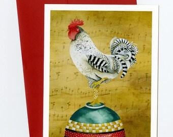 Greeting Card. Baking Time