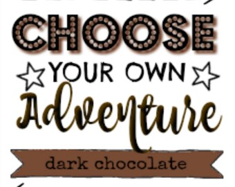 CHOCOLATE Layering Perfume Oil. Express Yourself With Your Own DIY Signature Scent. Vegan. Organic. Deep Cocoa with Hints of Burnt Sugar.