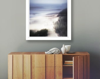Sea Blue Print, Fine Art Photography, Limited Edition. Coastal Wall Art, Ocean Waves Print, Abstract Seascape, Giclee Nature Print, Minimal
