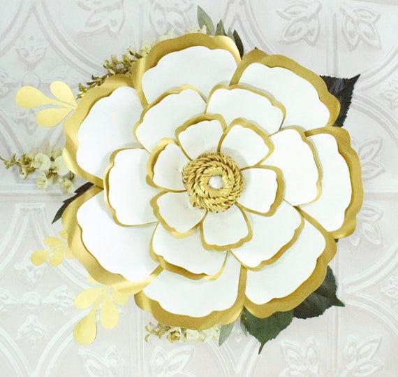 Large paper flowers giant paper flower patterns tutorials mightylinksfo
