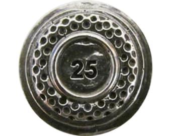 Clay Target 1 25 25  ~ Lapel Pin/Brooch ~ A098A