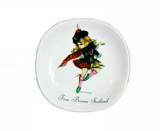 Frae Bonnie Scotland Brownie Downing Ceramics Plate Weaterby & Sons
