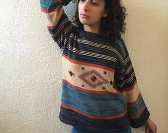 Funky Patterned Sweater