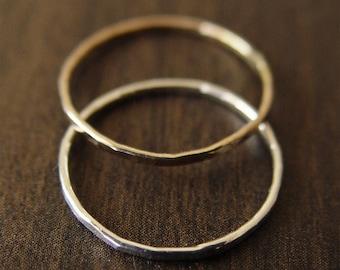 Wedding Band Ring Set