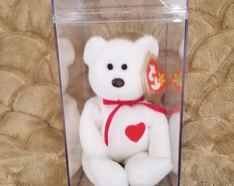 e4edde91d58 EXTREMELY RARE! VALENTINO ! 1993 1994 Ty Beanie Baby with 15 Errors ! Price  Reduced !