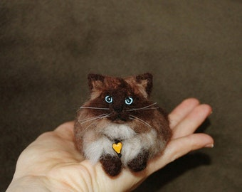 One Of A Kind OOAK Custom Needle Felted wild animal or likeness of your dog, cat, pet portrait soft sculpture gift