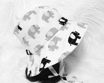 Elephant Bucket Hat, Sun Hat, Sun Bonnet, Beach Hat
