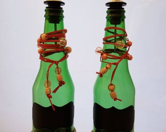 Hand Crafted Oil and Vinegar Bottles