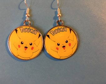 Pikachu Pokemon Earrings   P30
