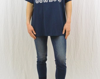 Vintage Dallas Cowboys T Shirt, taille XL, Football, au Texas, sportif, hommes, unisexe