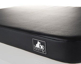 Faux leather DOG or CAT mat - bed