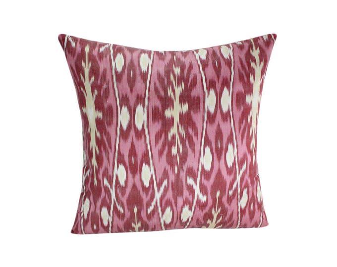 Ikat Pillow, Handmade Ikat Pillow Cover  S179, Ikat throw pillows, Designer pillows, Decorative pillows, Accent pillows