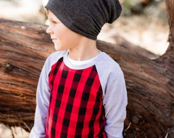 plaid baby shirt - buffalo plaid baby - lumberjack - lumberjack first birthday - plaid tshirt - plaid baby shirt