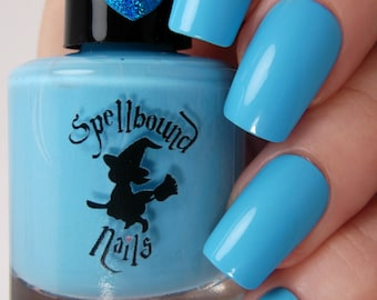 Airy Berry - Sky Blue Creme Nail Polish
