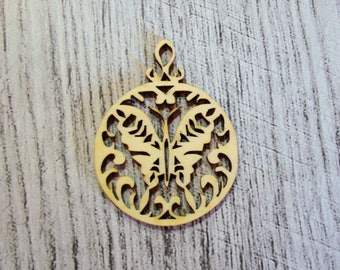 Medallion Butterfly 1131 wooden creations